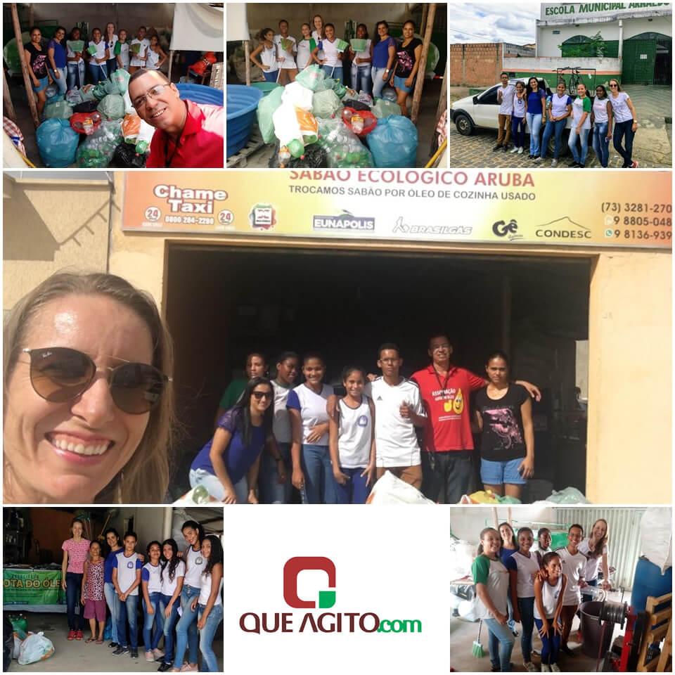 Escola Municipal Arnaldo Moura Guerrieri segue com Projeto de Reciclagem em 2019 1