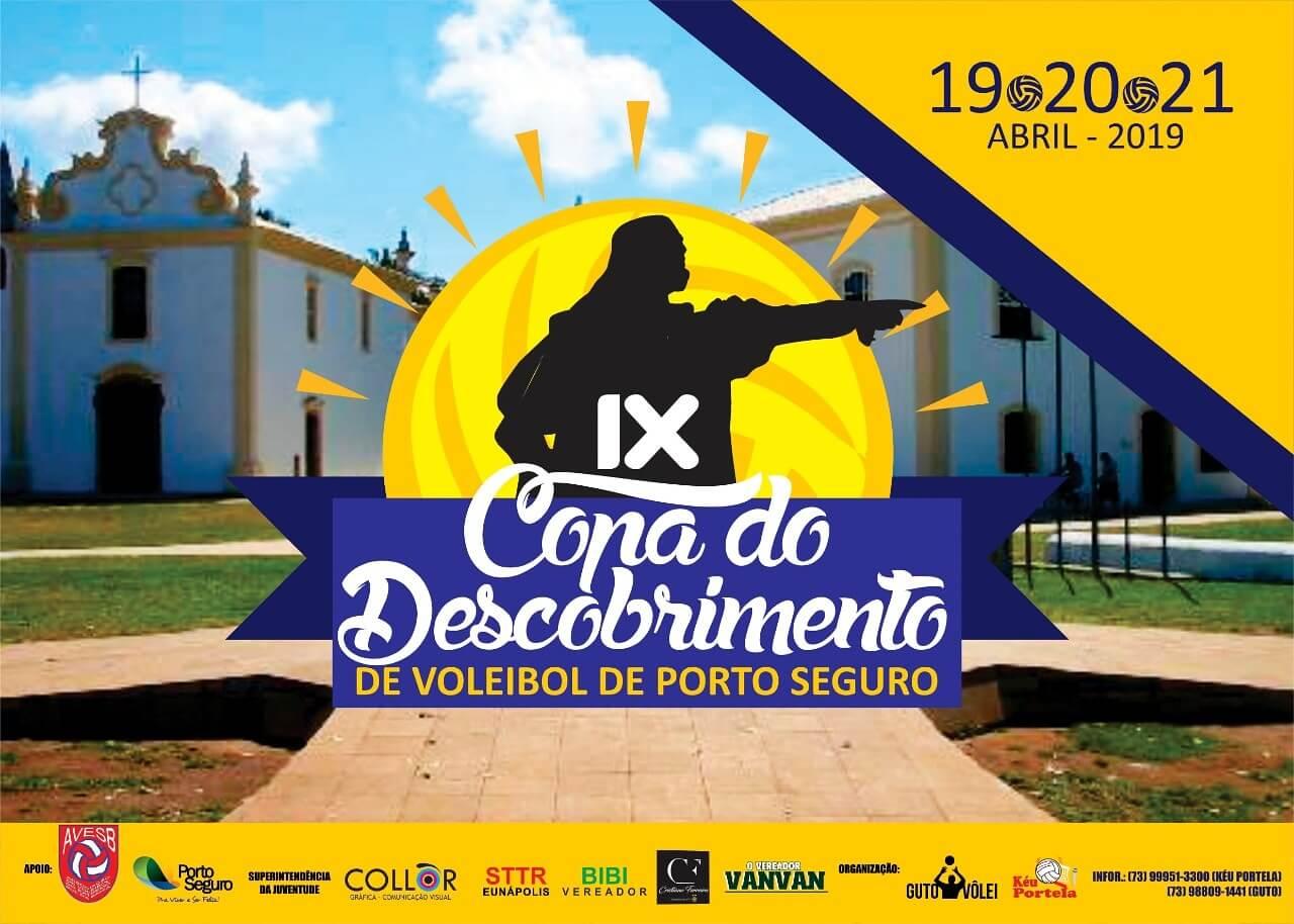 IX Copa do Descobrimento de Voleibol reunirá mais de 10 equipes 1