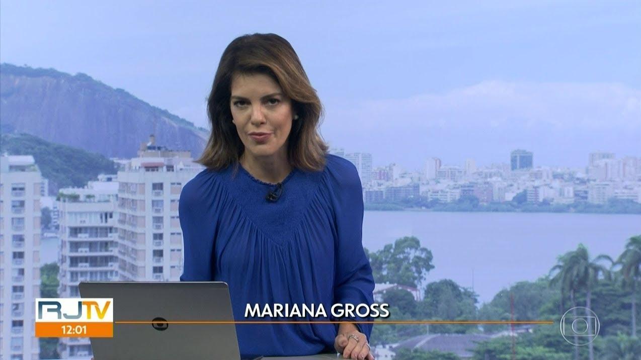 Calça de jornalista da Globo se rasga e ela mostra o buraco sendo costurado ao vivo 1