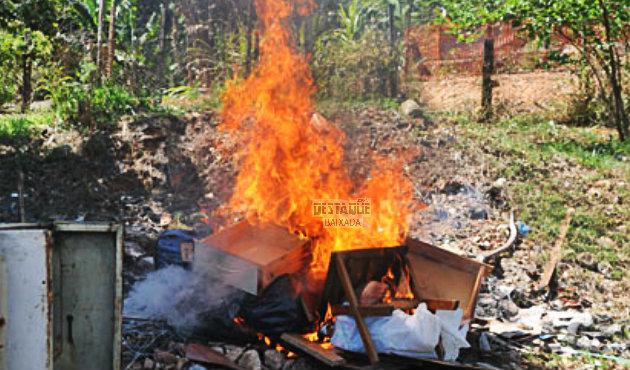 Colocar fogo em lixo ou no quintal de casa é crime e pode levar à prisão 1