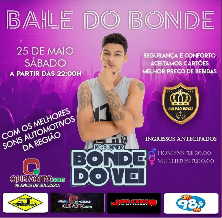 Baile do Bonde -  Galpão Royal – Eunápolis 1