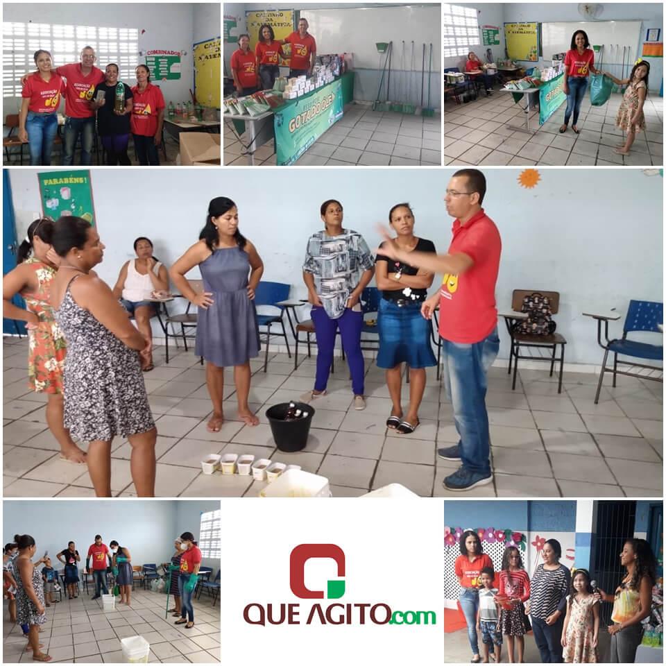 Oficina de sabão é oferecida em escola municipal de Eunápolis Como oportunidade de geração de emprego e renda 1