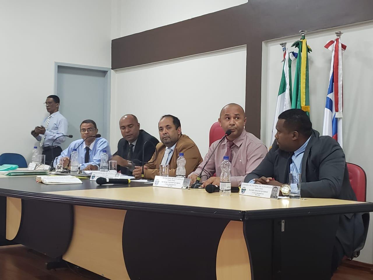 Câmara de Eunápolis concede autorização para Executivo reajustar salários da Guarda Municipal 1