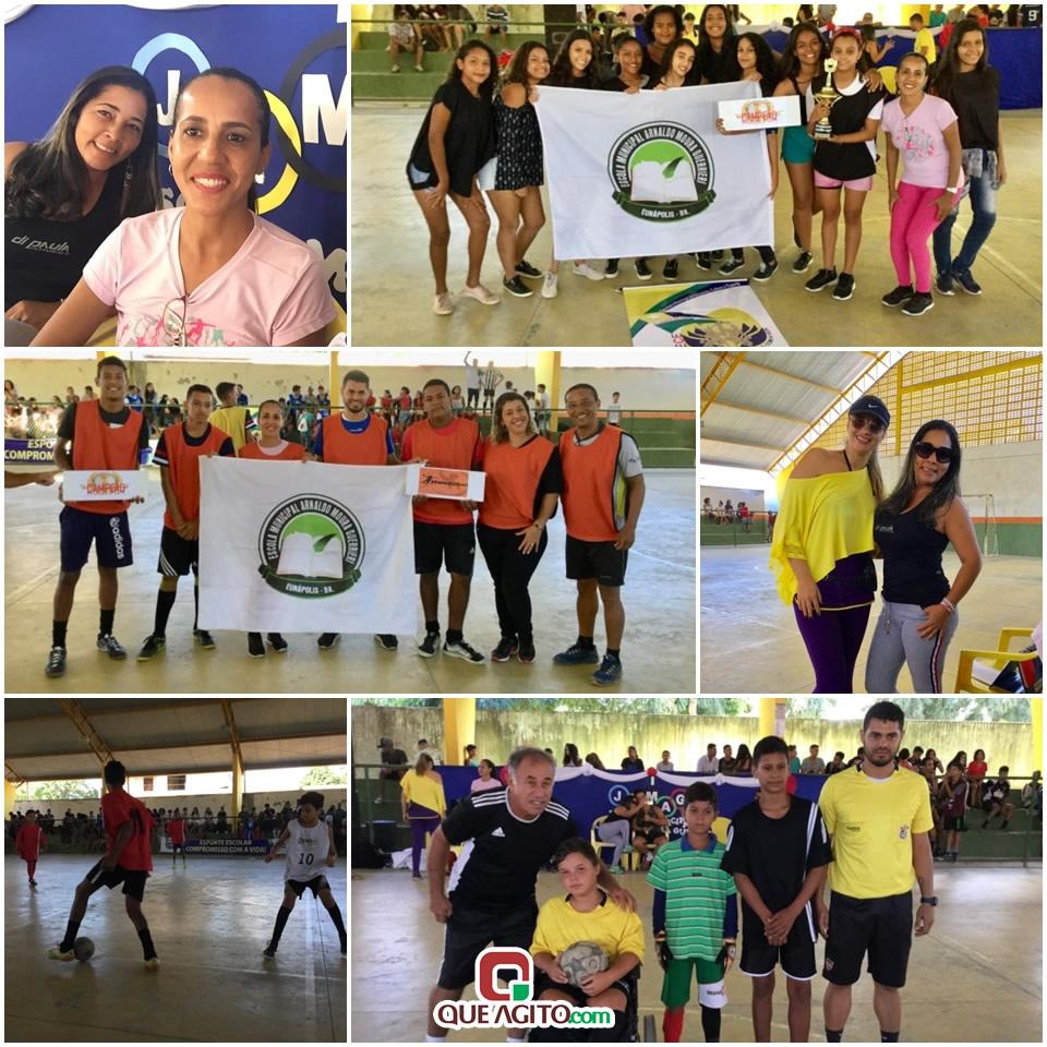 Escola Municipal Arnaldo Guerrieri realiza jogos internos em Eunápolis. 1
