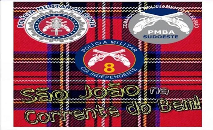 Corrente do bem: Polícia Militar lança clipe de forró para São João 2019 1