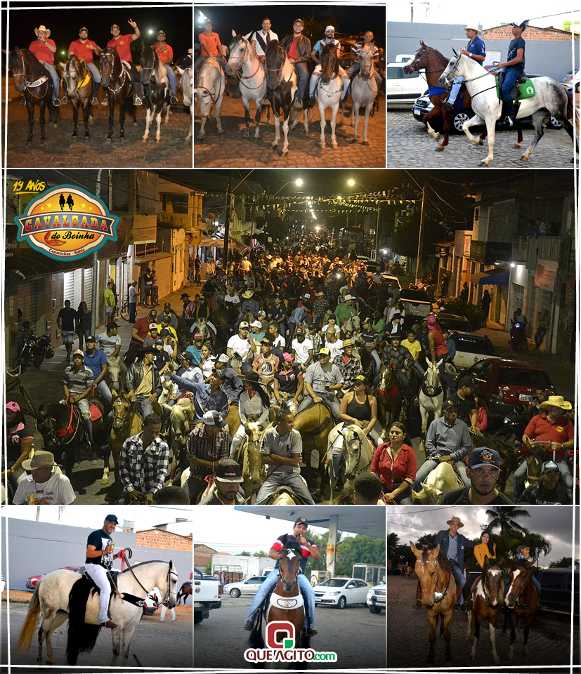 Trio da Huanna, Sinho Ferrary e Yara Silva animaram a 19ª Cavalgada do Boinha 1