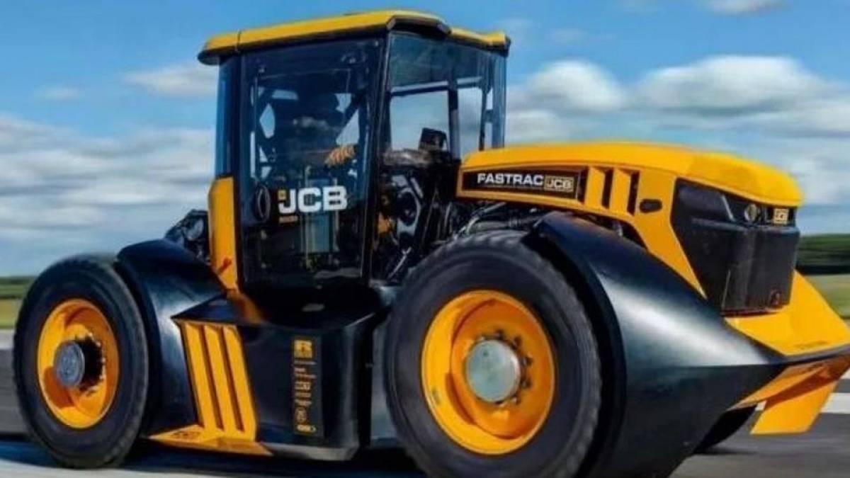 Este trator agrícola foi desenvolvido em conjunto com uma equipe de F1 e atinge 166 km/h 1