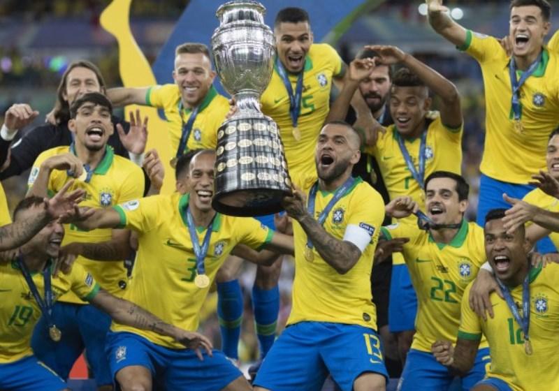 Copa América é nossa e Dani Alves 'goodcrazy' é o maior campeão da história 1