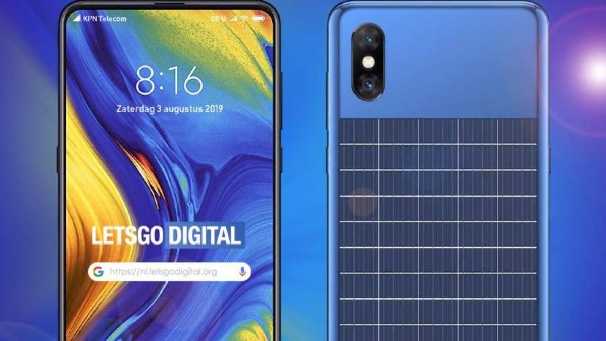 Xiaomi mostra celular com painel solar em nova patente 1