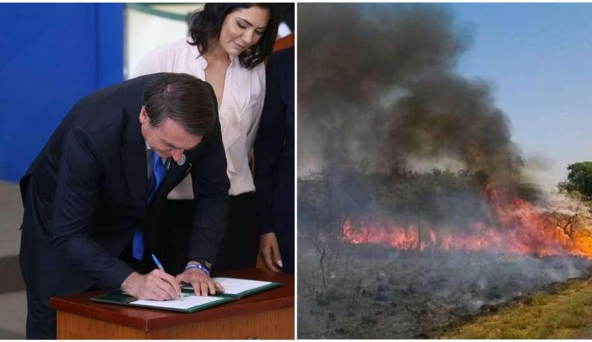 Decreto de Bolsonaro proíbe queimadas no Brasil por 60 dias 43