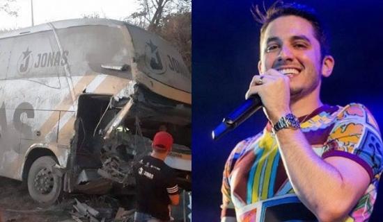 Banda de Jonas Esticado sofre acidente com ônibus no Maranhão 54