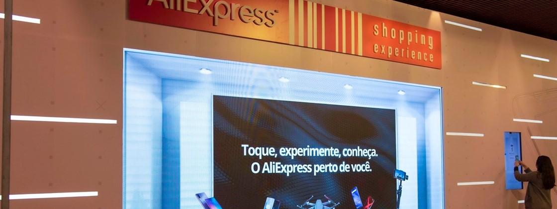 Aliexpress abre primeira loja física no Brasil 1
