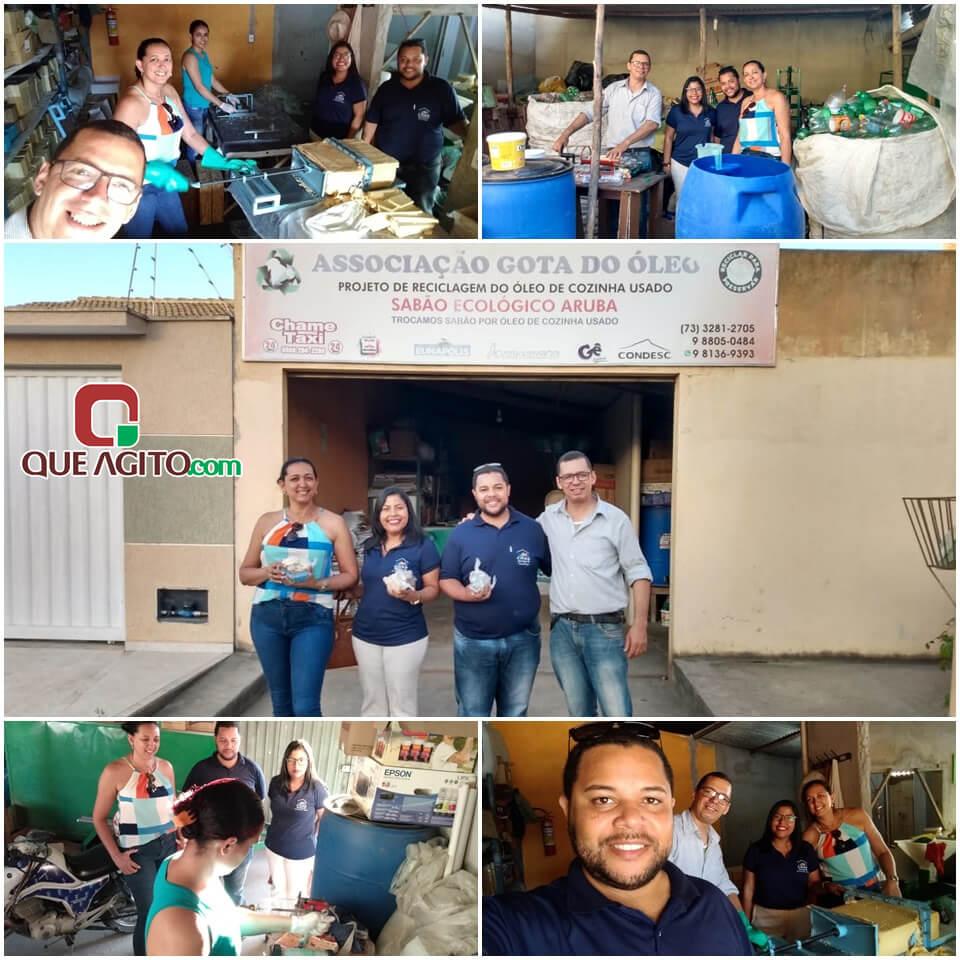 Equipe do CRAS de Guaratinga realiza visita técnica na AGO em Eunápolis 1