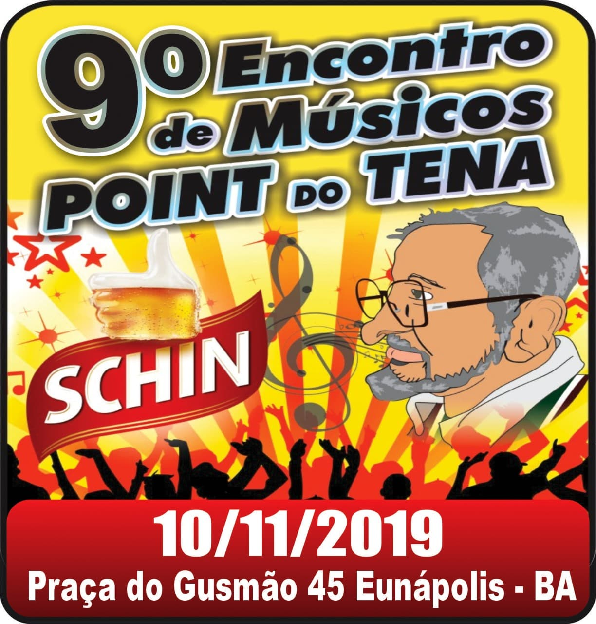 9ª Encontro de Músicos Point do Tena - Praça do Gusmão - Eunápolis 1