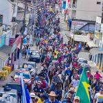 Grandes nomes da música baiana animaram a 11ª Grande Cavalgada Na Terra do Forró 99