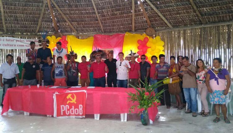 Cacique Aruã é lançado pré-candidato a prefeito em Cabrália 39