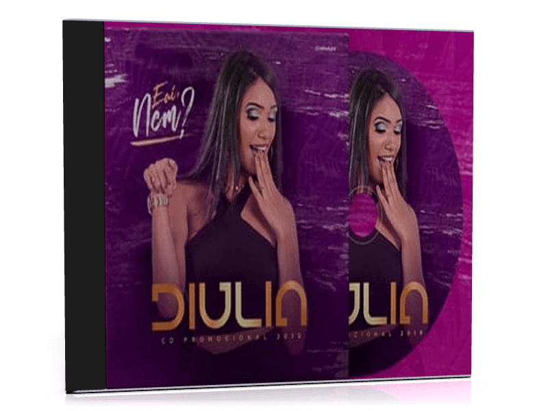 Baixe novo CD Promocional 2019  de Diulia. 1