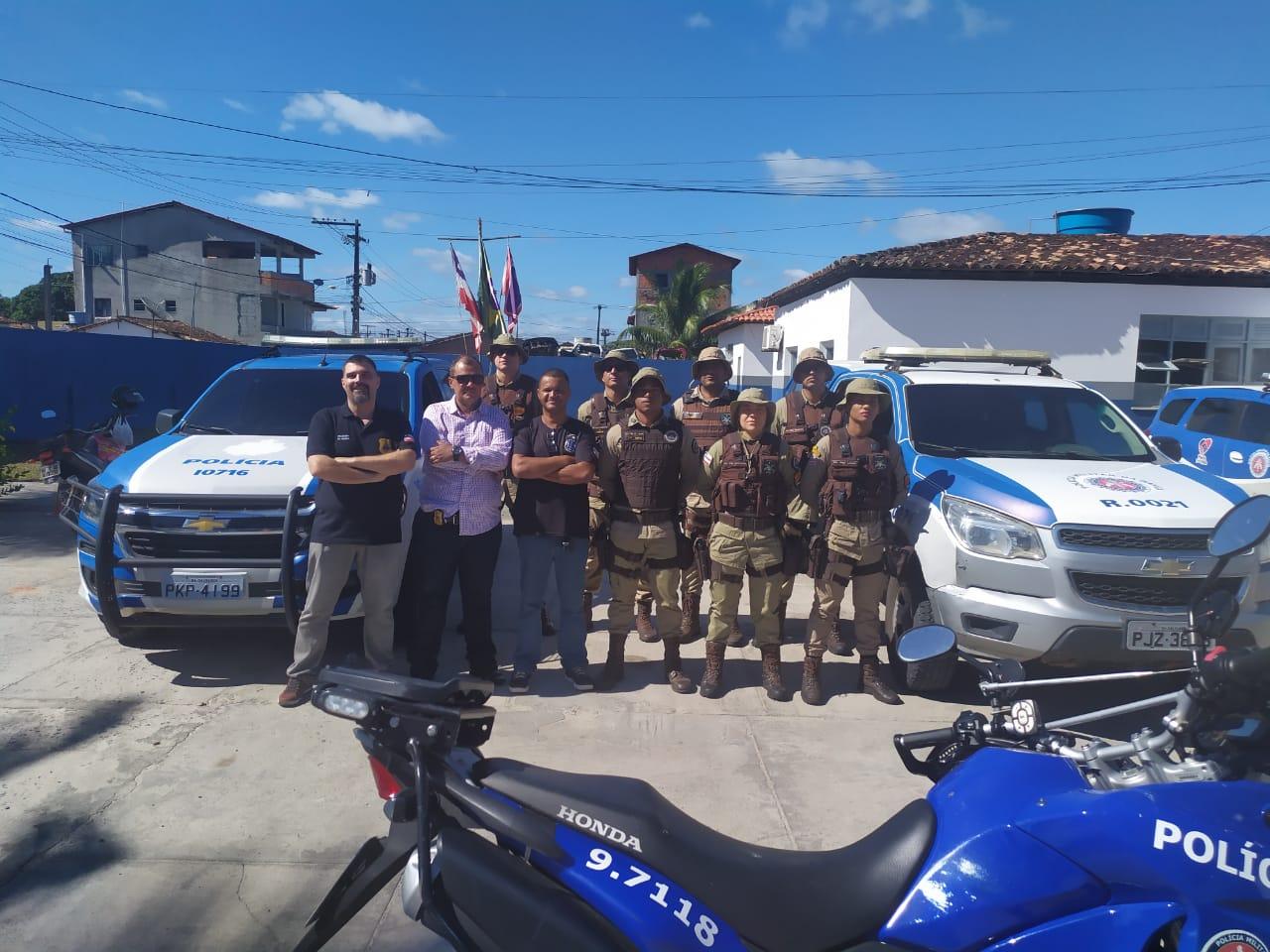 POLÍCIA CIVIL E POLÍCIA MILITAR REALIZAM OPERAÇÃO CONJUNTA EM CANAVIEIRAS 1