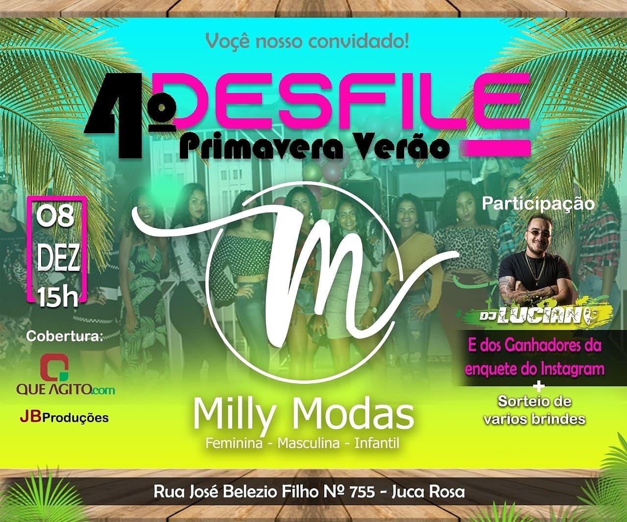 4º Desfile Primavera Verão Milly Modas - Juca Rosa - Eunápolis 1