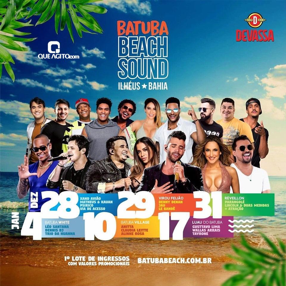 Batuba Beach Sound em Ilhéus Bahia