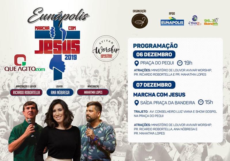 Eunápolis : Vem aí a Marcha com Jesus 2019 1