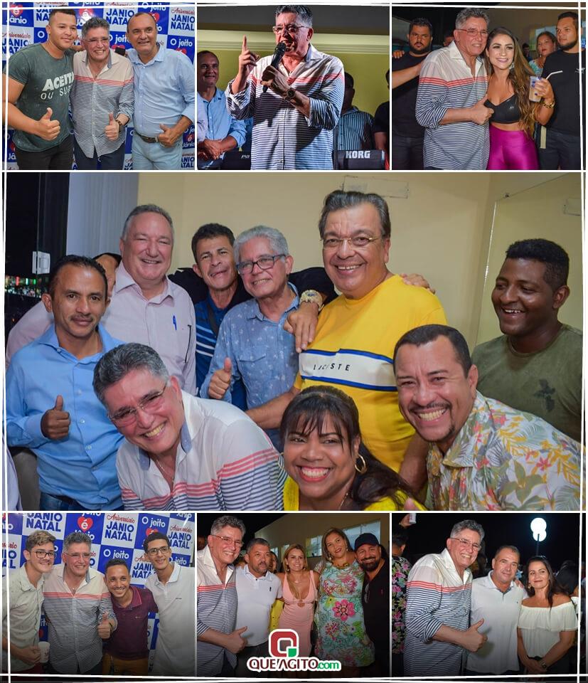 Jânio Natal comemora aniversário ao lado de amigos e familiares ao ritmo da Caneta Azul 1
