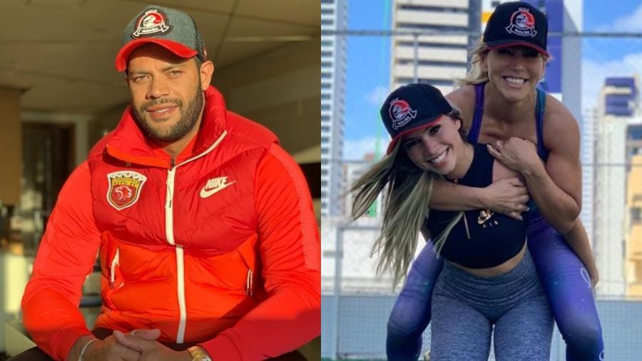 Jogador Hulk Paraíba engata namoro com sobrinha da ex-namorada 1