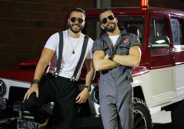 Rafa e Pipo Marques lançam clipe de Pimenta Malagueta; assista 1