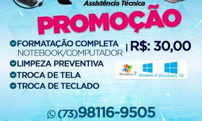 Promoção: Formatação de Notebook & Computadores por R$ 30,00 Reais - Teccel Informática 28