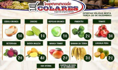 Confira as ofertas desta Terça do Hortifruti do Supemercado Colares! 19