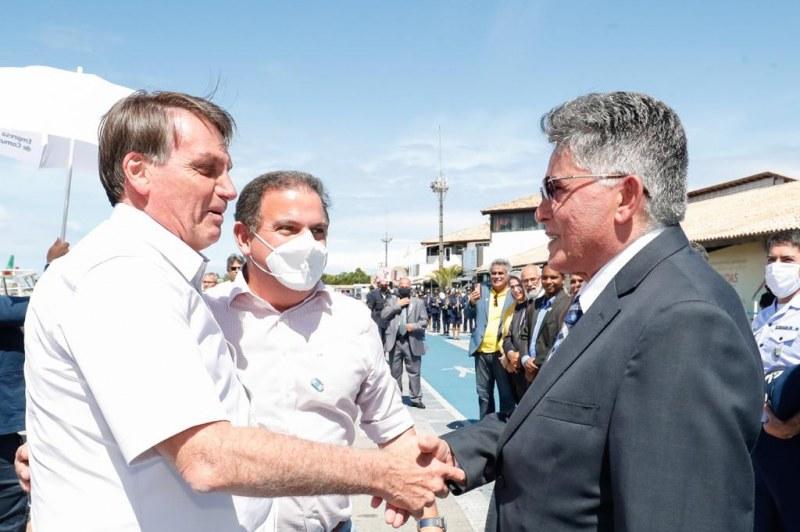 Prefeito Jânio Natal recepciona presidente Jair Bolsonaro em Porto Seguro 21