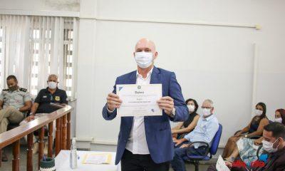 Prefeito reeleito e vereadores de Itabela são diplomados 56