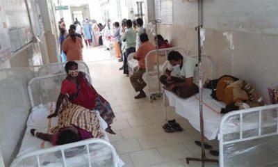 Índia tem mais de 300 pessoas hospitalizadas com doença desconhecida 23