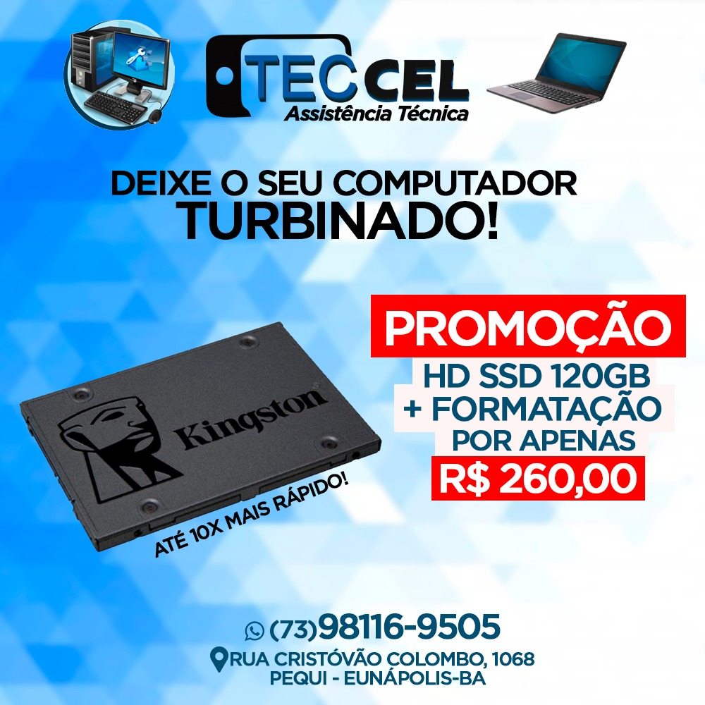Promoção: Formatação de Notebook & Computadores  por R$ 30,00 Reais - Teccel  Informática 21
