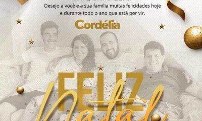 Prefeita de Eunápolis, Cordélia deseja à todos um Feliz Natal 58