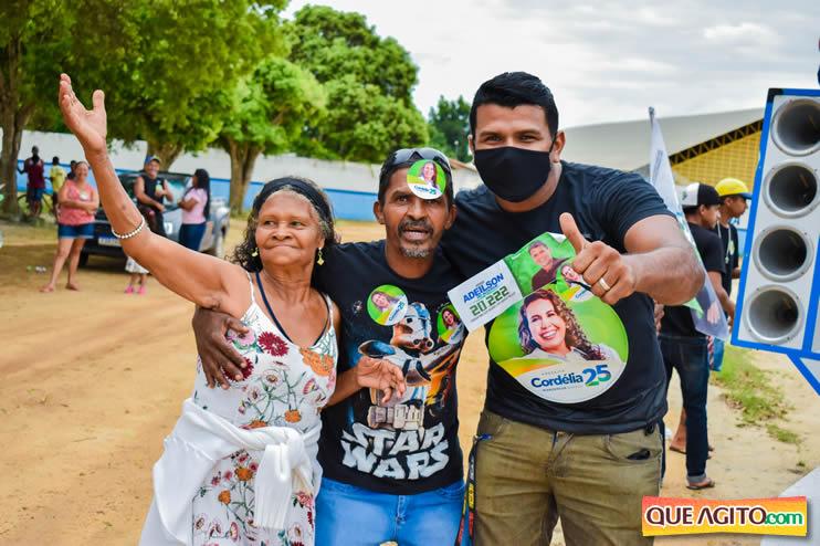 Candidato a vereador Adeilson do Açougue lança campanha com grande caminhada 31