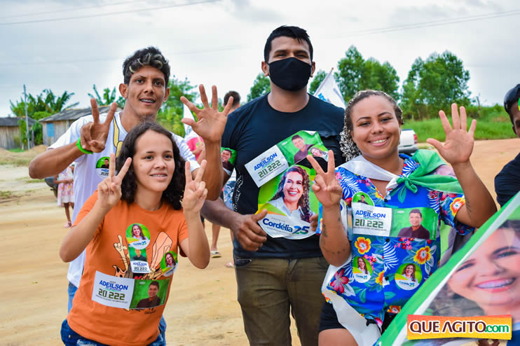 Candidato a vereador Adeilson do Açougue lança campanha com grande caminhada 51