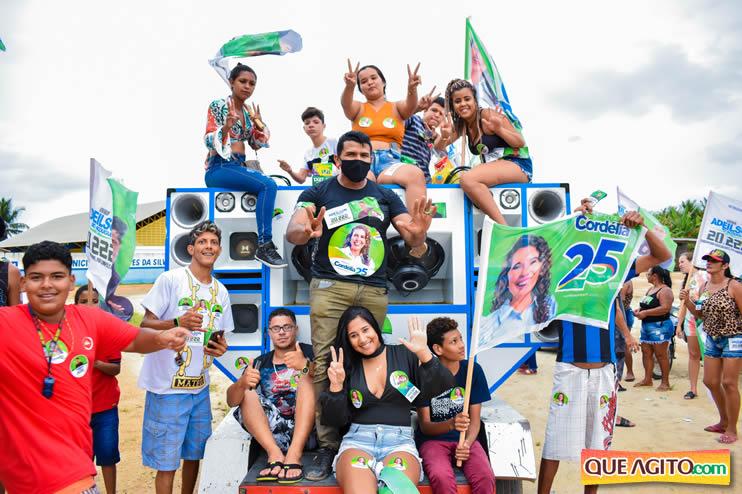 Candidato a vereador Adeilson do Açougue lança campanha com grande caminhada 60