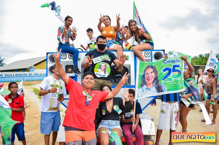 Candidato a vereador Adeilson do Açougue lança campanha com grande caminhada 59