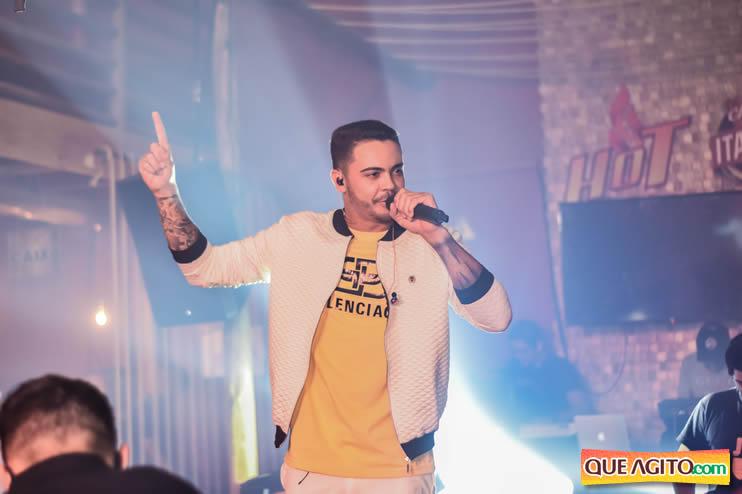 Julio Cardozzo retorna aos palcos e contagia público da Hot 73