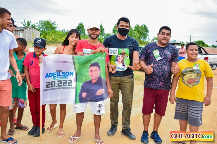 Candidato a vereador Adeilson do Açougue lança campanha com grande caminhada 70