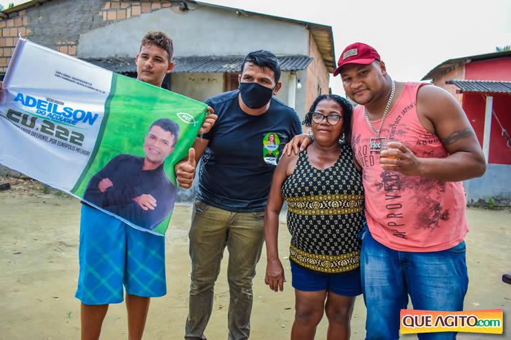 Candidato a vereador Adeilson do Açougue lança campanha com grande caminhada 127