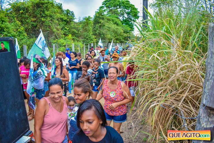 Candidato a vereador Adeilson do Açougue lança campanha com grande caminhada 142