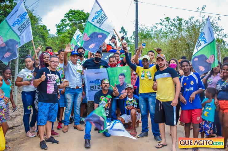 Candidato a vereador Adeilson do Açougue lança campanha com grande caminhada 150