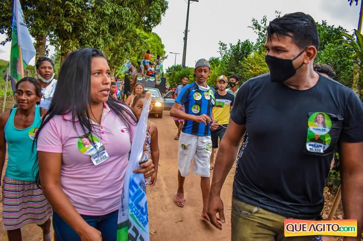 Candidato a vereador Adeilson do Açougue lança campanha com grande caminhada 158