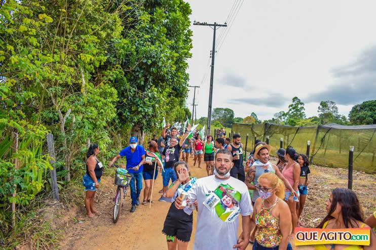 Candidato a vereador Adeilson do Açougue lança campanha com grande caminhada 167