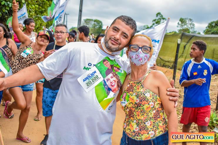 Candidato a vereador Adeilson do Açougue lança campanha com grande caminhada 166