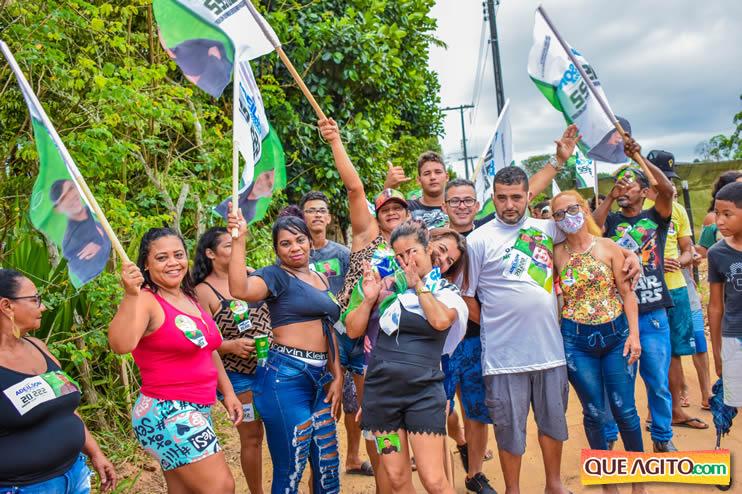 Candidato a vereador Adeilson do Açougue lança campanha com grande caminhada 164