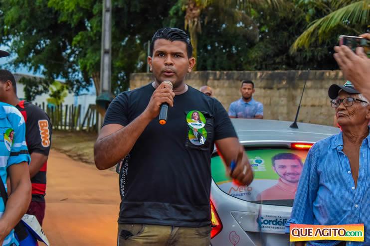 Candidato a vereador Adeilson do Açougue lança campanha com grande caminhada 183