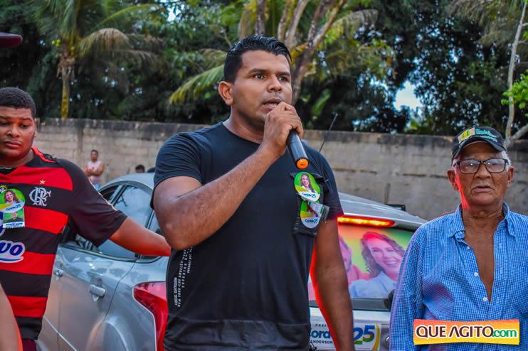 Candidato a vereador Adeilson do Açougue lança campanha com grande caminhada 185